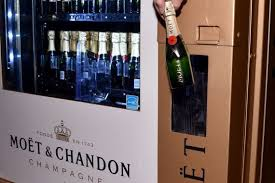 Champagne Vending Machine Delectable Las Vegas Gets The First Moët Chandon Champagne Vending Machine In
