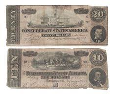 Confederate Money Value Chart 36 Best Confederate Money Images Confederate States Of