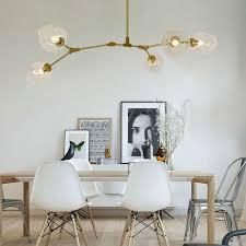 gold pendant lighting kitchen modern pendant light bar glass lamp home large lights study golden ceiling lamp free bulbs
