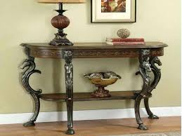 elegant entryway table antique entry round tables