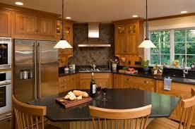 Corner cooktop.