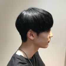 韓国人風オシャレマッシュセピアージュ トロワ所属斉藤優太のヘア