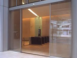 oversized linear sliding doors