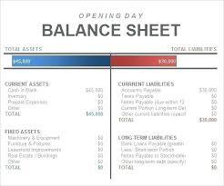 simple balance sheet example template bank balance sheet template example excel simple bank