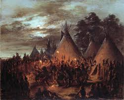 scalp sioux by george catlin