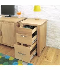 aston solid oak hidden. Aston Contemporary Oak Two Drawer Filing Cabinet Solid Hidden