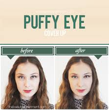 tbdpuffyeyecoverupsteps makeup under eye undo tutorial photography by amy nadine graphic design by eunice chun howtogetridofpuffyeyes15