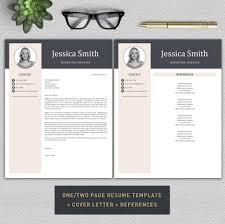 Parts Of A Modern Cv Resume Resume Template Cv Template Professional Resume Modern
