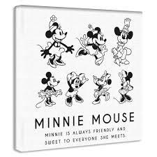オシャレなミッキーマウスのグッズ 壁を傷つけないアートパネル