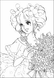 Small Picture Coloring Pages for Adults Only Girl Coloring Pages Anime