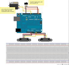 arduino sharp ir distance sensor outputting consistently high <code>circuit diagram< code>