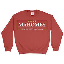 Chiefs Patrick Mahomes Pullover Again Sweatshirt com Great Sports Make amp; Outdoors The Amazon