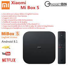 Most Popular TV Box: Xiaomi Mi Tv Box S 4k