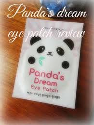 tony moly panda s dream eye patch review