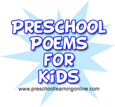 pre kids poems for teaching children a variety of fun ideas