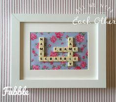 scrabble tile wall art scrabble tile wall personalised scrabble tile wall gift scrabble wall decor name scrabble tile wall family on personalised framed wall art uk with a personal favourite from my etsy shop https www etsy uk