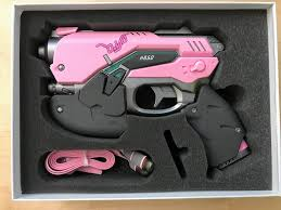 Dva Light Gun Amazon Com Overwatch Dva Led Powerbank Gun Prop Dva Multi