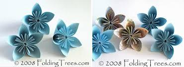 Folding Paper Flower Folding Trees Paper Flowers Rock My Wedding Uk Wedding Blog