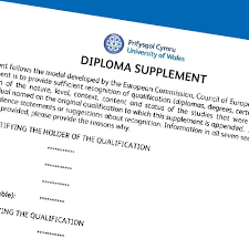 replacement transcript diploma supplement university of wales  replacement transcript diploma supplement