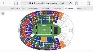 4 Tickets Green Bay Packers Los Angeles Rams October 28