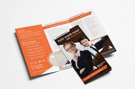 2 Folded Brochure Template Free Corporate Tri Fold Brochure Template Vol 2 In Psd Ai