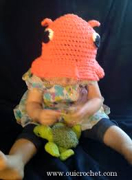 Crochet Octopus Hat Pattern Cool Oui Crochet Adorabilis Octopus Toddler Sun Hat Free Crochet Pattern