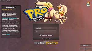 Can't login to the game in silver - General Support - Pokemon Revolution  Online