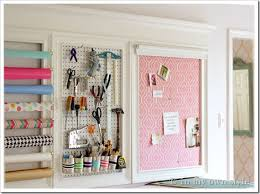 craft room organizing ideas on wall art for craft room with how to add a crown molding to a craft room creative wall 5 in my