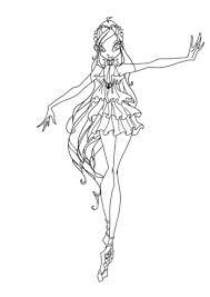 Disegno Di Bloom Enchantix Da Colorare Disegni Da Colorare E