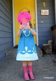 little girl princess costume princess poppy from trolls