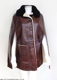 inexpensive clothing winter fashion prada burdy shearling fur cape jacket coat it 40 uk 8