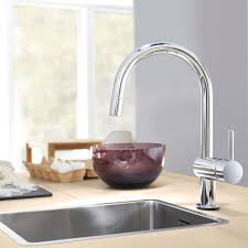 Grohe Concetto Kitchen Faucet Minta Touch Single Handle Pull Down Kitchen Faucet Touch On