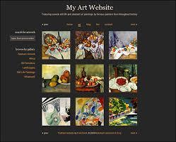 Artist Website Templates Gorgeous Best Template Websites For Artists Artist Website Templates
