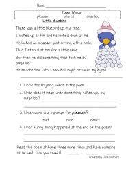 Kids. reading comprehension printable worksheets: Worksheets ...