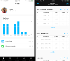 Workout Progress Charts How A Fitness App Helped Me Get Strong And Lose 20 Pounds