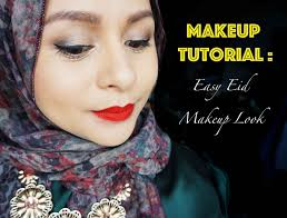 beauty makeup tutorial easy eid makeup look