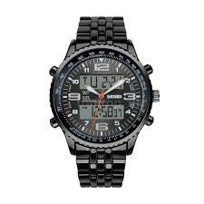 skmei 1032 luxury mens steel analog digital sports watch alarm skmei 1032 luxury mens steel analog digital sports watch alarm date stopwatch uk