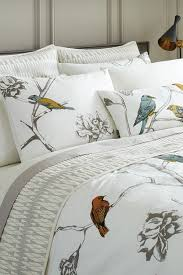 image of dwellstudio home chinoiserie duvet cover pearl