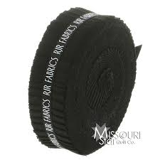 1.5-Inch Fabric Strips — Missouri Star Quilt Co. & Cotton Supreme - Black Honey Bun Adamdwight.com