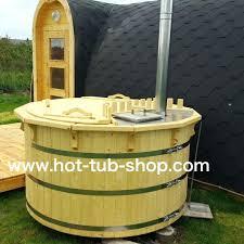 cedar hot tub kit new flat packed spruce cm wooden diy