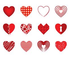 free decorative heart vectors