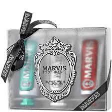 <b>Marvis Toothpaste Travel</b> With <b>Flavour</b> Gift Set – Beard & Blade