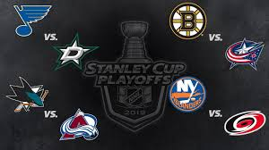Hockey Playoff Standings Chart Stanley Cup Playoffs Second Round Schedule