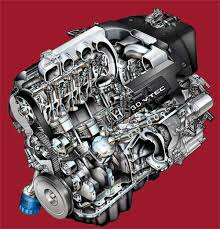automotive illustration cutaway ghosted phantom view accord v6 engine cutaway
