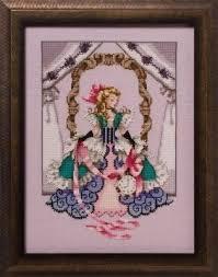 Caron Watercolours Chart Alice Cross Stitch Chart