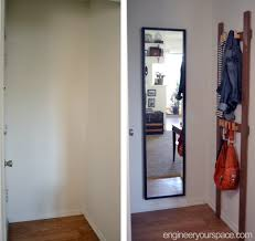 Coat Rack Solutions Easy DIY Coat Rack For The Tiniest Entryway Smart DIY Solutions 3