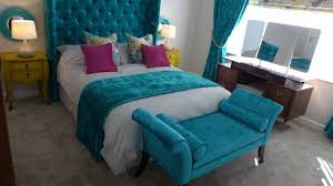 teal bedroom furniture. Style Within. Glamorous Bedroom Design Teal Furniture