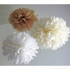 Tissue Paper Pom Poms Flower Balls 12pcs White Ivory Tan Tissue Paper Pom Poms Pompoms Flower Ball Wedding Birthday Anniversary Party Christmas Home Decoration Zp6c0sucf