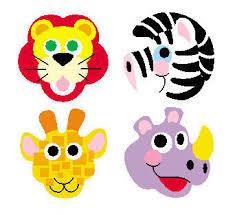 Zoo Animal Motivational S Reward Chart Stickers