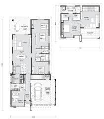 Narrow Home Plans Designs Narrow Lot Homes And House Plans In Perth Pindan Homes
